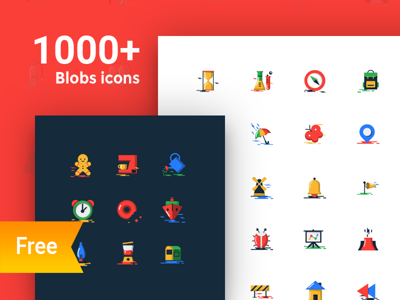 Blobs Icons