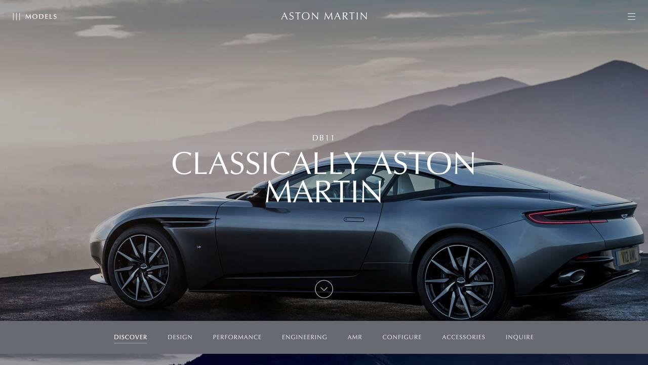 The Aston Martin DB11