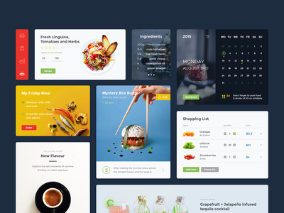 Food & Drink UI Kit