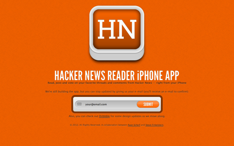 Hacker News iPhone App