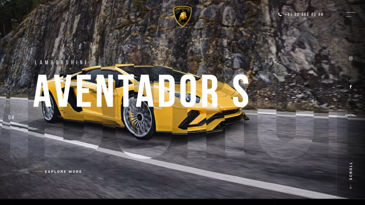 Lamborghini Porrentruy Switzerland