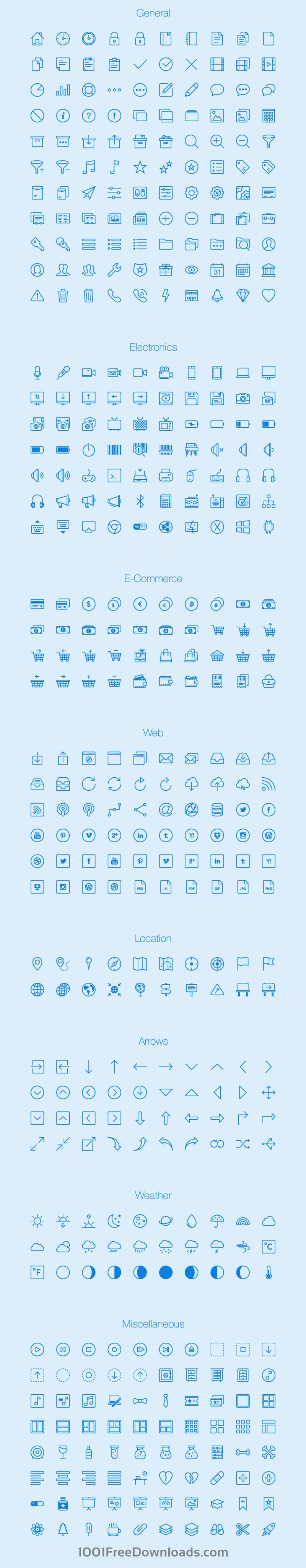 Lynny Icon Set