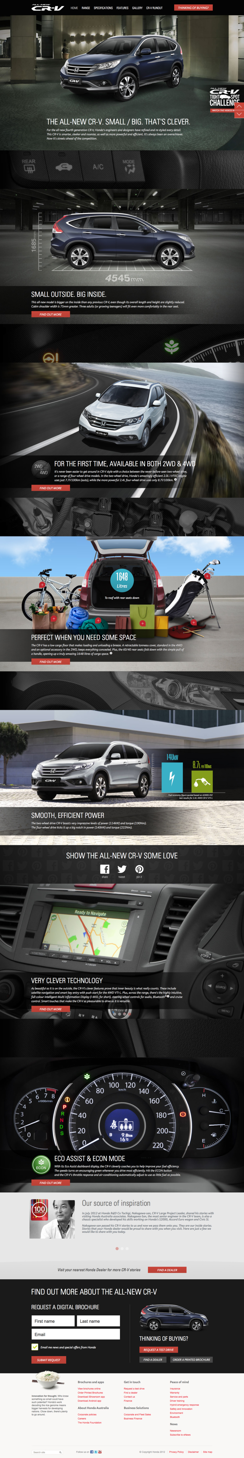 Official Honda CR-V Site