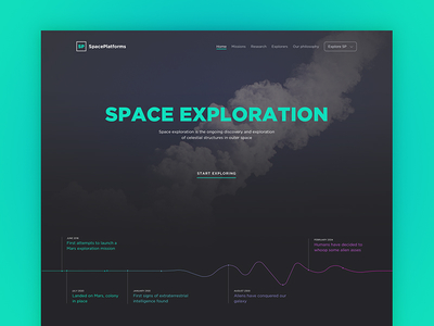Space Exploration Web