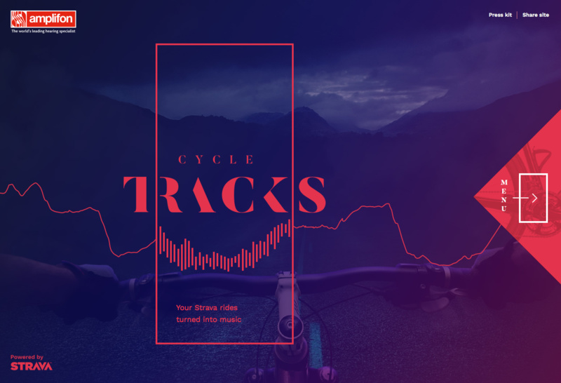 Strava Cycle Tracks